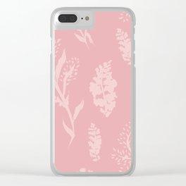 Asheville Natives Blend 01 Clear iPhone Case