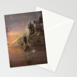 Hogwarts is our home Stationery Cards