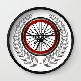 Ride On Shield  Wall Clock