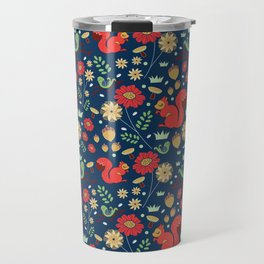 Let's go nuts! - Surface Pattern Design - ByBeck Travel Mug