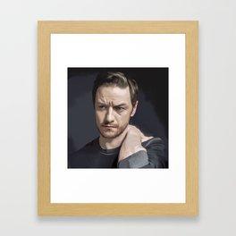 James McAvoy Framed Art Print