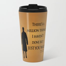 Just You Wait - Alexander Hamilton Design Travel Mug