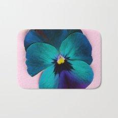 Viola tricolor Bath Mat