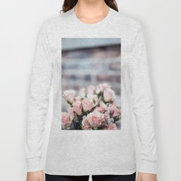 ROSES - PINK - PHOTOGRAPHY - FLOWERS Long Sleeve T-shirt