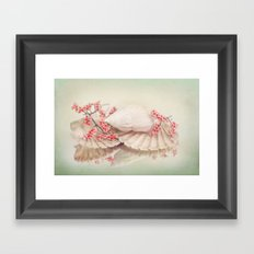 SHELLY DREAM Framed Art Print