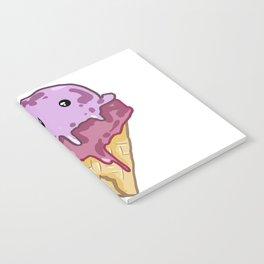 Vampire Ice Cream Cone Notebook