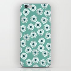 Flower Pot - Flowers for you, Floral, Vintage Retro Flower tin  iPhone & iPod Skin