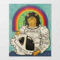 ripley Canvas Prints featuring Ripley by Derek Eads