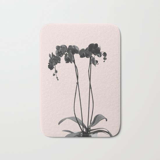 Orchid summer bloom Bath Mat