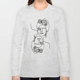 Frida Kahlo Double Long Sleeve T-shirt