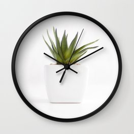 Succulent for minimalists Wall Clock