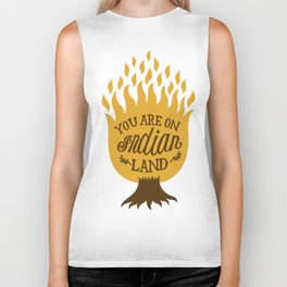 Take Off Your Shoes Biker Tank