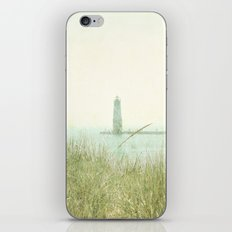 Two Boats and a Lighthouse iPhone & iPod Skin