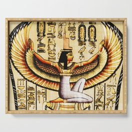 Egypt Isis Cleopatra Serving Tray