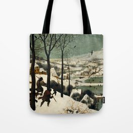 Hunters in the Snow (Winter) Tote Bag