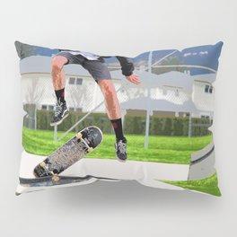 Missed Opportunity  - Skateboarder Pillow Sham