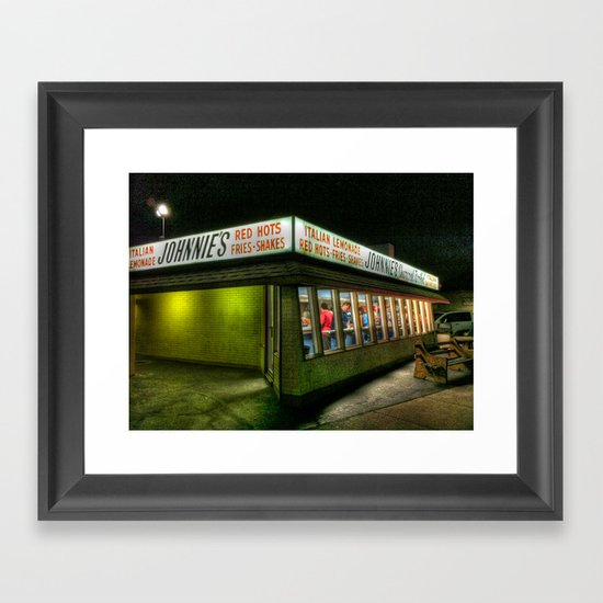 'Johnnies' Framed Art Print