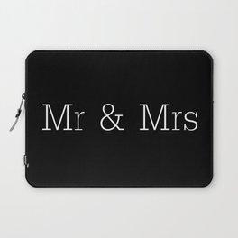 Mr & Mrs Monogram Standard Laptop Sleeve