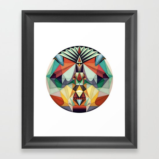 Going Somewhere Framed Art Print