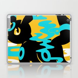 #197 - Umbreon (shiny ver.) Laptop & iPad Skin