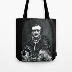 Edgar Allan Poe Portrait Tote Bag