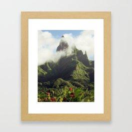 Marquesas Islands Of Mystery Framed Art Print