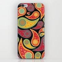 bohemian iPhone & iPod Skins featuring Bohemian Paisley  by Digi Treats 2