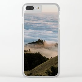 Sky Below - Mount Tamalpais III Clear iPhone Case