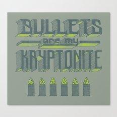 Kryptonite Canvas Print