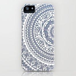 Kokua Mandala IV Illustration iPhone Case