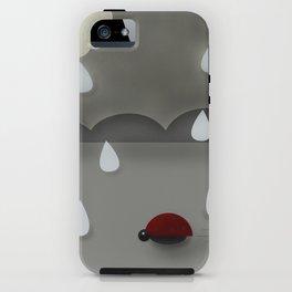 Run Lady Bug iPhone Case