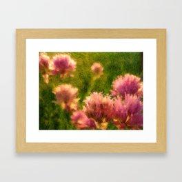Pink Blossoms Framed Art Print