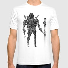 living robotic coral warrior  Mens Fitted Tee White MEDIUM