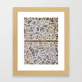 CDMX Framed Art Print