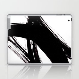 Abstract Wall art, Abstract Print, Black White Abstract Print, Black White Art, Minimalist Print, Ab Laptop & iPad Skin