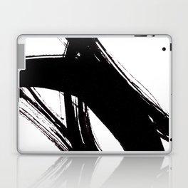 Abstract Wall art, Abstract Print, Black White Abstract Print, Black White Art, Minimalist Print, Ab Laptop & iPad Skin