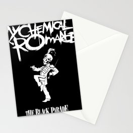my chemical romance black parade ori 2020 udahbaun Stationery Cards