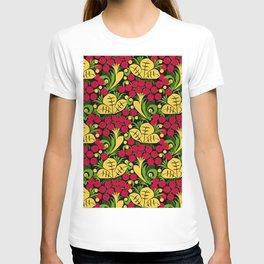 Folk Art Floral T-shirt