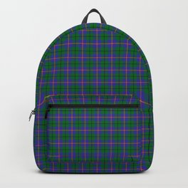 Carmichael Tartan Plaid Backpack