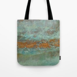 Blue Green Worlds Tote Bag
