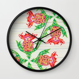 Mexican Celebrations Wall Clock