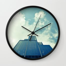 Inverted World Wall Clock