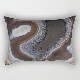 Agate crystal texture Rectangular Pillow