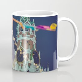 Kremlin and Red Square in Christmas and New Year, Moscow, Russia Coffee Mug