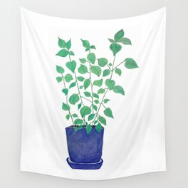 petite plante de maison Wall Tapestry