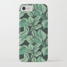 Exotic Tropical Banana Palm Leaf Print iPhone 7 Slim Case