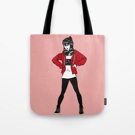 Red Sweater - Pink Variant Tote Bag