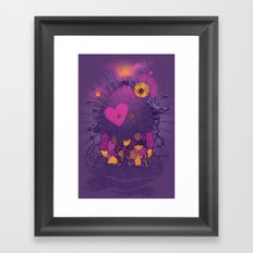 Walker Of the Darkness Framed Art Print