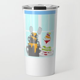 National Clean Up Day Travel Mug