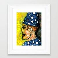 merlin Framed Art Prints featuring MERLIN by Laertis Art